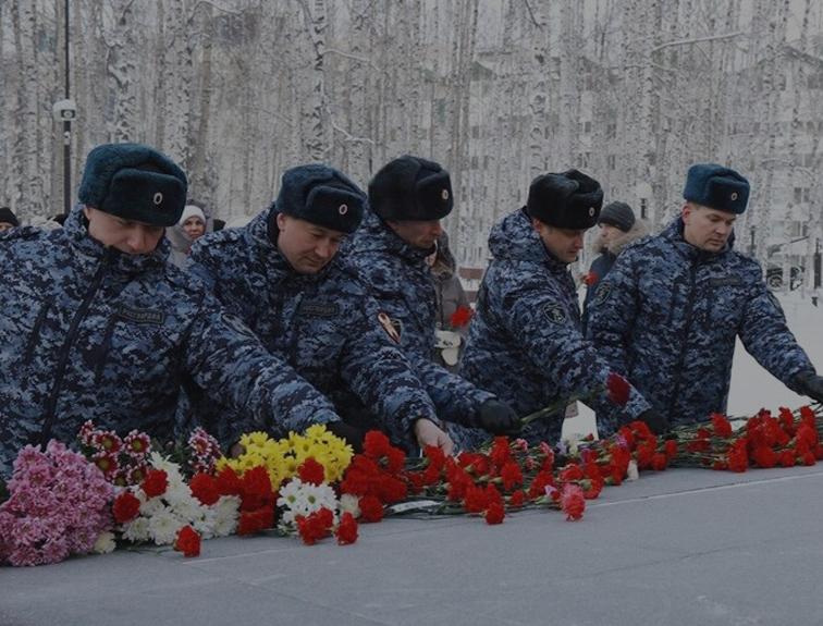 В Уральском округе Росгвардии проходят патриотические мероприятия