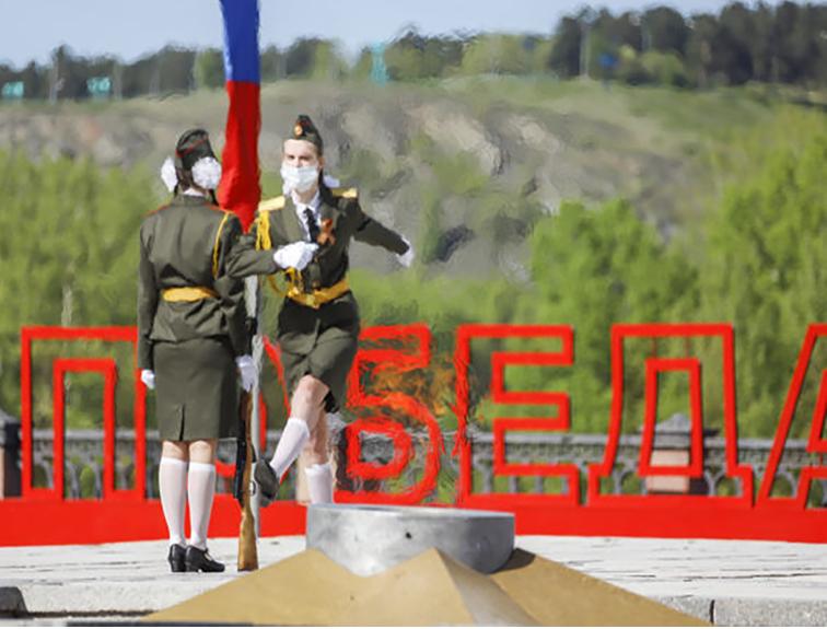 Проведение акции «Вахта Победы — Кузбасс»